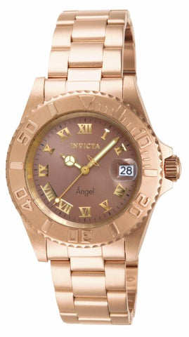 Invicta  Women's 14365 Angel Quartz 3 Hand Copper Dial Watch