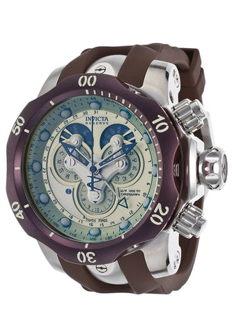 Invicta Men's 14461 Venom Quartz Chronograph Champagne Dial Watch