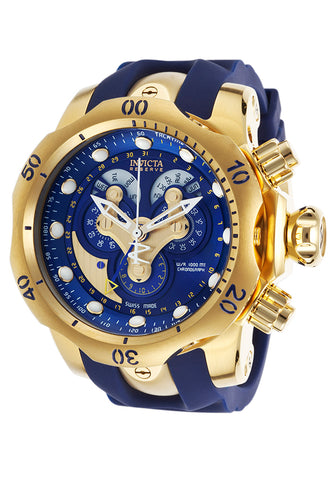 Invicta Men's 14465 Reserve Quartz Chronograph Blue Dial Watch