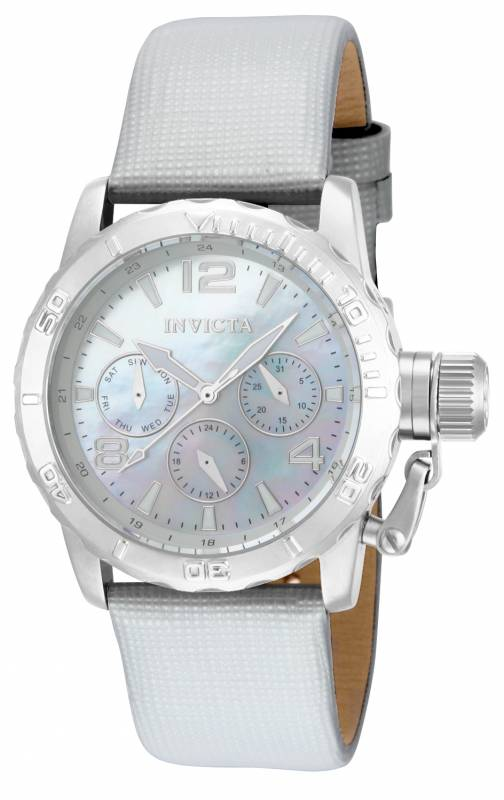 Invicta Women's 14796 Corduba Quartz Multifunction Platinum Dial Watch