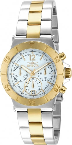Invicta Women's 14855 Specialty Quartz Chronograph White Dial Watch
