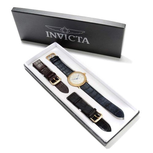 Invicta Men's 14858 Specialty Quartz 3 Hand Silver Dial Watch
