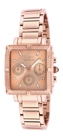 Invicta Women's 14872 Wildflower Quartz 3 Hand Rose Gold Dial Watch