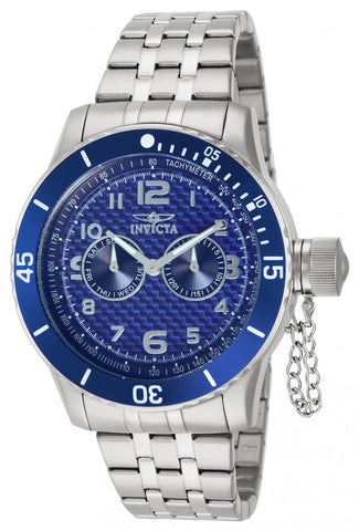Invicta Men's 14887 Specialty Quartz Chronograph Blue Dial Watch