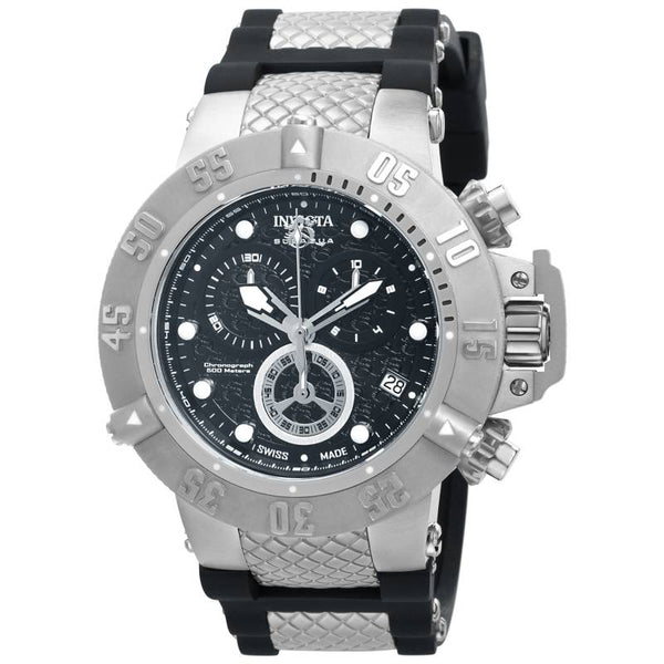Invicta Men's 14941 Subaqua Quartz Chronograph Black Dial Watch