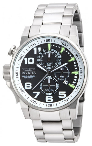 Invicta Men's 14955 I-Force Quartz Multifunction Black Dial Watch