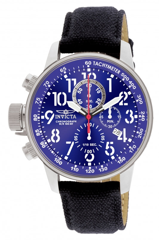 Invicta Men's 1513 I-Force Quartz Chronograph Blue Dial Watch