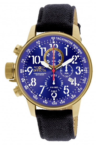 Invicta Men's 1516 I-Force Quartz Multifunction Blue Dial Watch