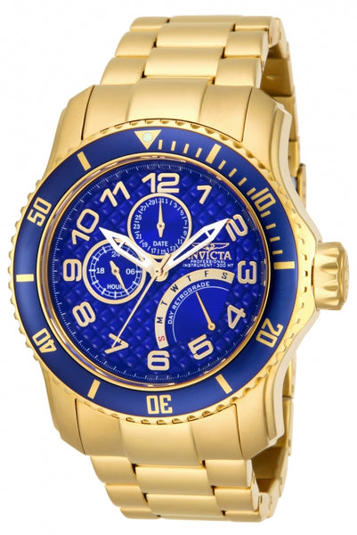 Invicta  Men's 15342 Pro Diver Quartz Multifunction Blue Dial Watch