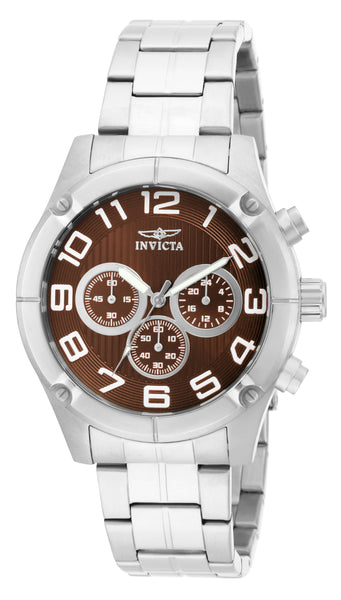 Invicta Men's 15369 Specialty Quartz Chronograph Brown Dial Watch