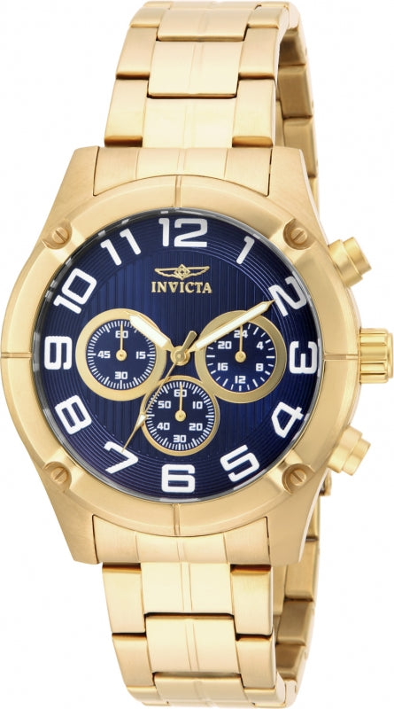 Invicta Men's 15371 Specialty Quartz Chronograph Blue Dial Watch