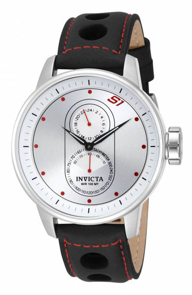 Invicta Men's 16019 S1 Rally Quartz Multifunction Silver Dial Watch