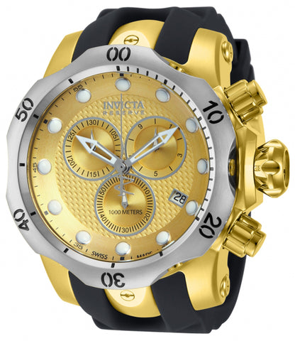 Invicta Men's 16151 Venom Quartz Chronograph Gold Dial Watch