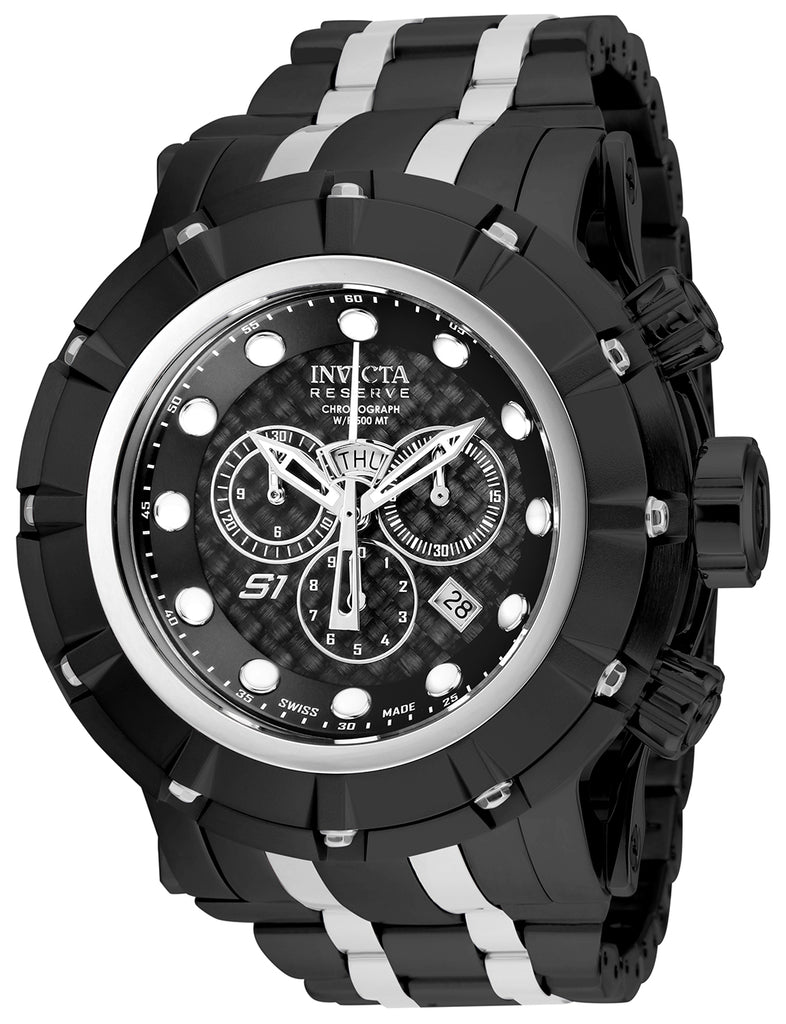 Invicta Men's 16760 Reserve Quartz Chronograph Black Dial Watch