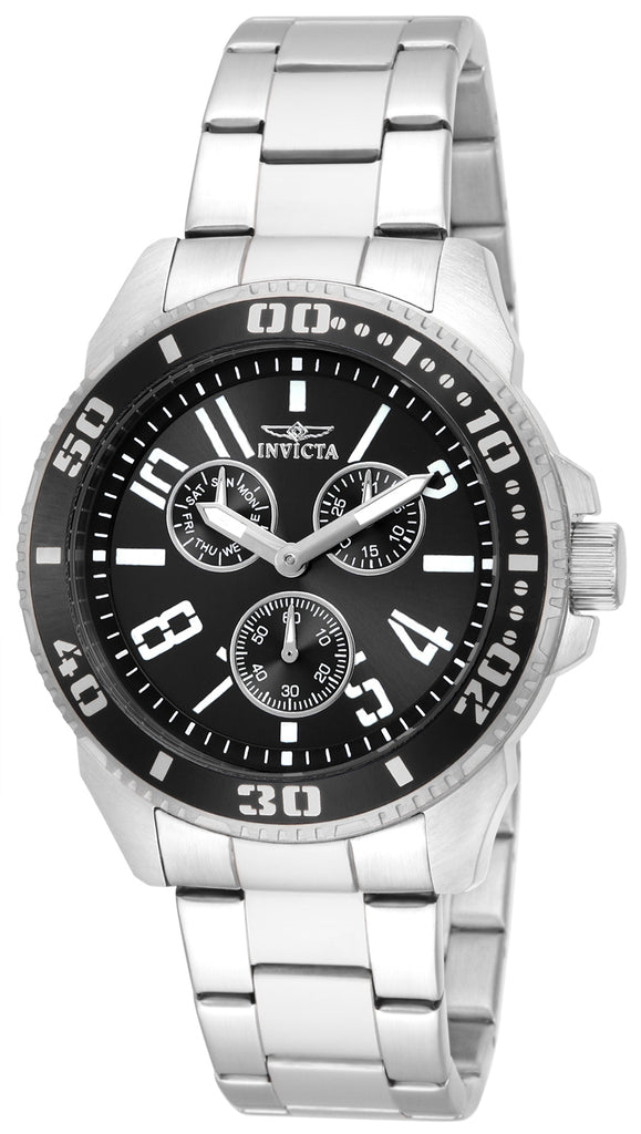 Invicta Men's 16938 Pro Diver Quartz Chronograph Black Dial Watch