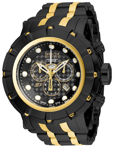 Invicta Men's 16950 Reserve Quartz Chronograph Black Dial Watch