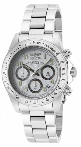 Invicta Men's 17023 Speedway Quartz Chronograph White Dial Watch