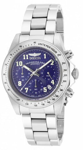 Invicta Men's 17024 Speedway Quartz Chronograph Blue Dial Watch