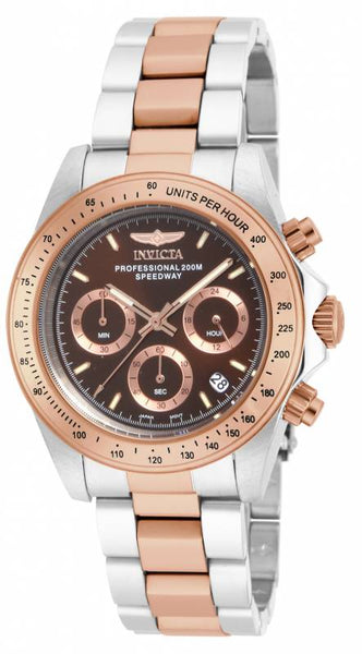 Invicta Men's 17029 Speedway Quartz Chronograph Brown Dial Watch