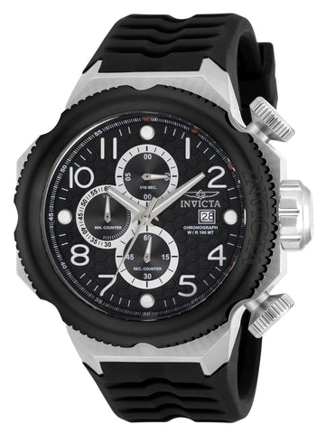 Invicta Men's 17169 I-Force Quartz Multifunction Black Dial Watch