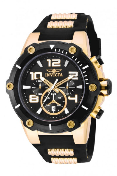 Invicta Men's 17200 Speedway Quartz Chronograph Black Dial Watch