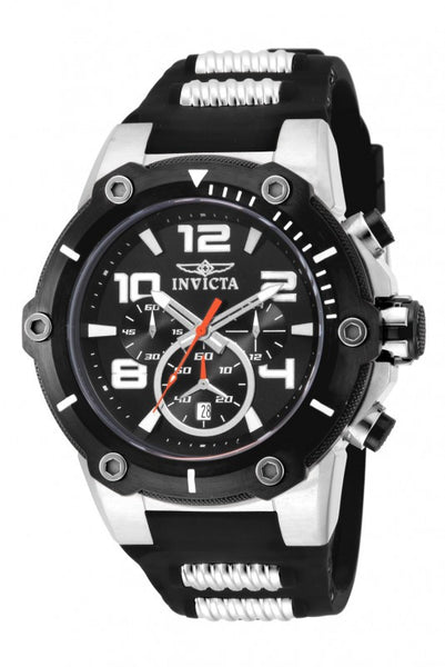 Invicta Men's 17202 Speedway Quartz Chronograph Black Dial Watch