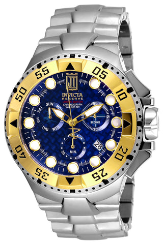 Invicta Men's 17844 Jason Taylor Quartz Chronograph Blue Dial Watch