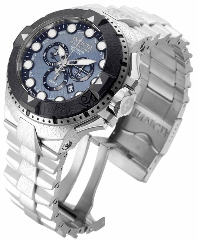 Invicta Men's 17862 Excursion Quartz Chronograph Grey, Black Dial Watch