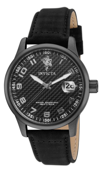 Invicta Men's 17911 Sea Base Quartz 3 Hand Black Dial Watch