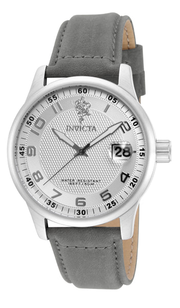 Invicta Men's 17913 Sea Base Quartz 3 Hand Silver Dial Watch
