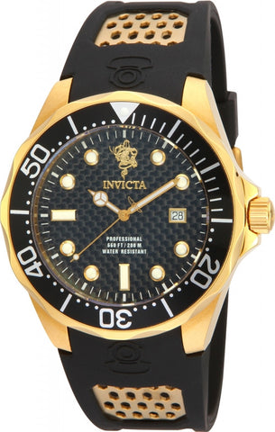 Invicta Men's 17969 Sea Base Quartz 3 Hand Black Dial Watch