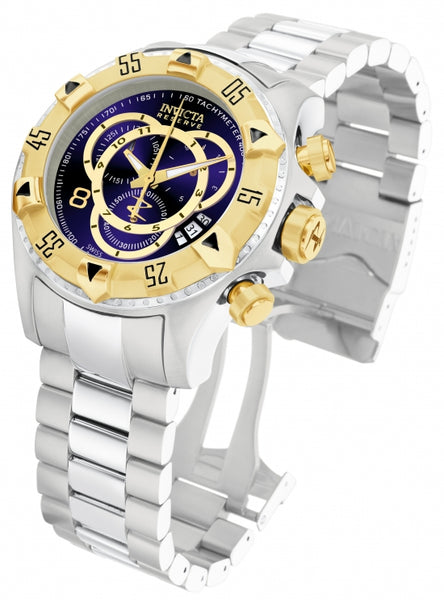 Invicta Men's 1878 Excursion Quartz Chronograph Blue Dial Watch