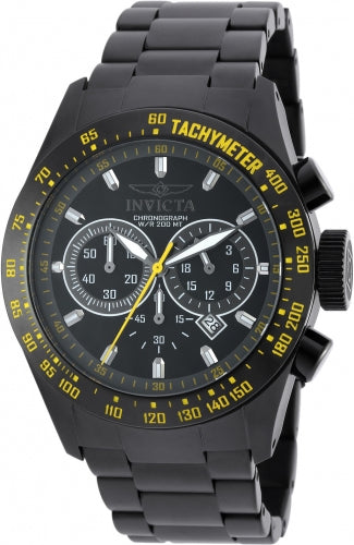 Invicta Men's 19297 Speedway Quartz Chronograph Black Dial Watch