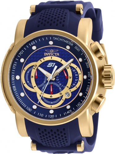 Invicta Men's 19330 S1 Rally Quartz Multifunction Blue Dial Watch