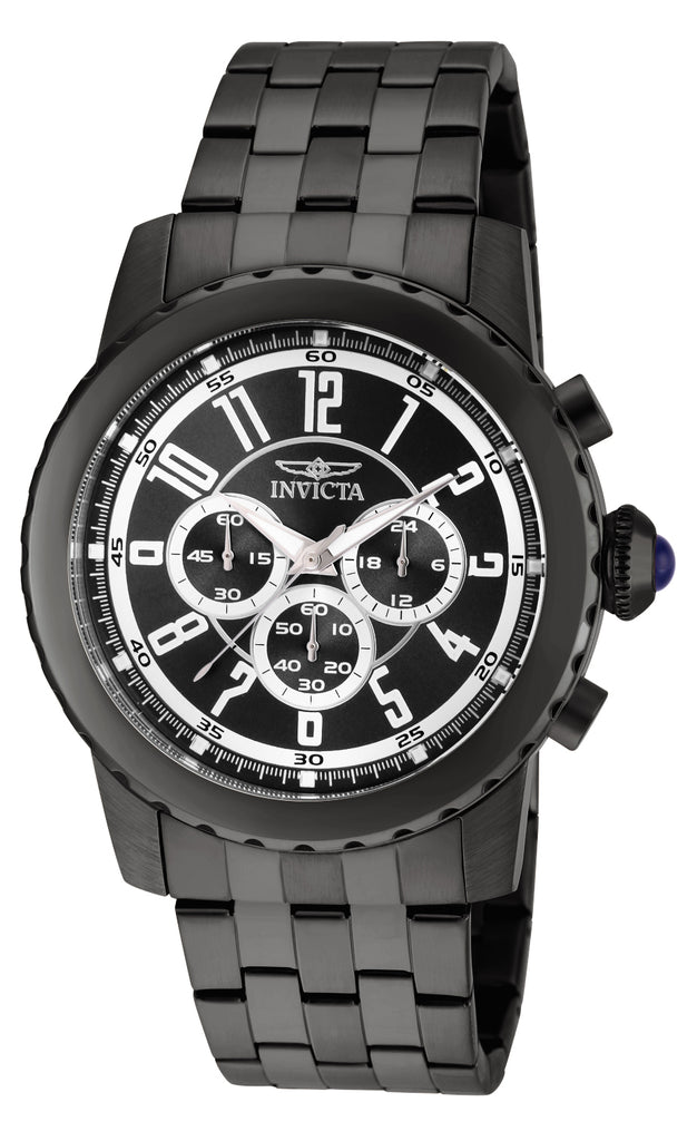 Invicta Men's 19466 Specialty Quartz Chronograph Black Dial Watch