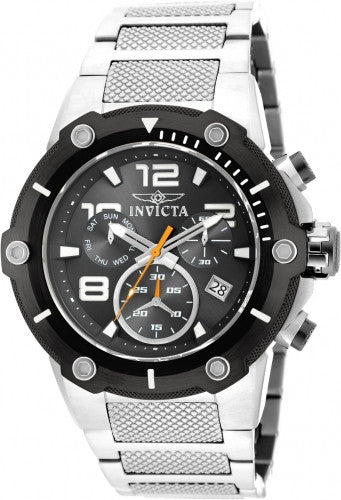 Invicta Men's 19528 Speedway Quartz Chronograph Black Dial Watch