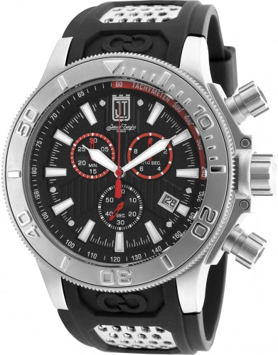 Invicta Men's 19575 Jason Taylor Quartz Chronograph Black Dial Watch