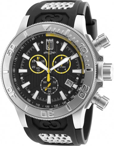 Invicta Men's 19576 Jason Taylor Quartz Chronograph Black Dial Watch