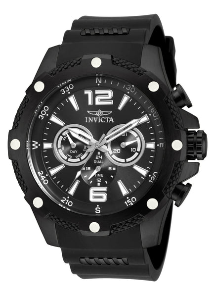 Invicta Men's 19662 I-Force Quartz Chronograph Black Dial Watch