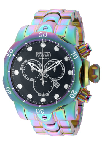 Invicta Men's 19764 Reserve Quartz Chronograph Black Dial Watch