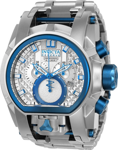 Invicta Men's 20112 Reserve Quartz Multifunction Antique Silver Dial Watch