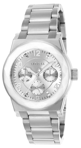 Invicta  Women's 20152 Angel Quartz Multifunction Silver Dial Watch