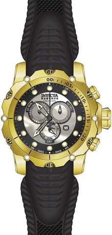 Invicta Men's 20400 Venom Quartz Chronograph White, Black Dial Watch