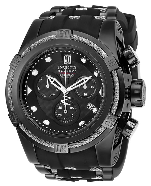 Invicta Men's 20413 Jason Taylor Quartz Chronograph Black Dial Watch