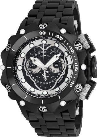 Invicta Men's 20421 Venom Quartz Multifunction Black Dial Watch