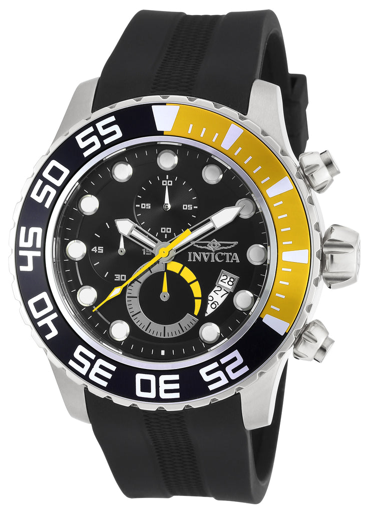 Invicta Men's 20449 Pro Diver Quartz Multifunction Black Dial Watch