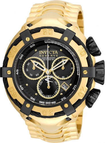 Invicta Men's 21346 Bolt Quartz Chronograph Black Dial Watch