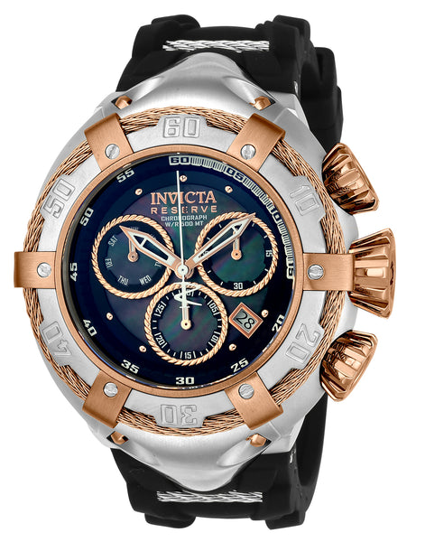 Invicta Men's 21349 Bolt Quartz Chronograph Black Dial Watch