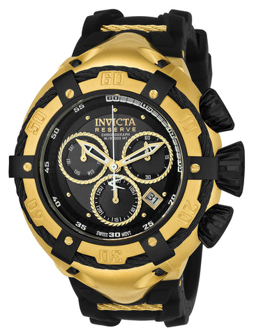 Invicta Men's 21353 Bolt Quartz Chronograph Black Dial Watch