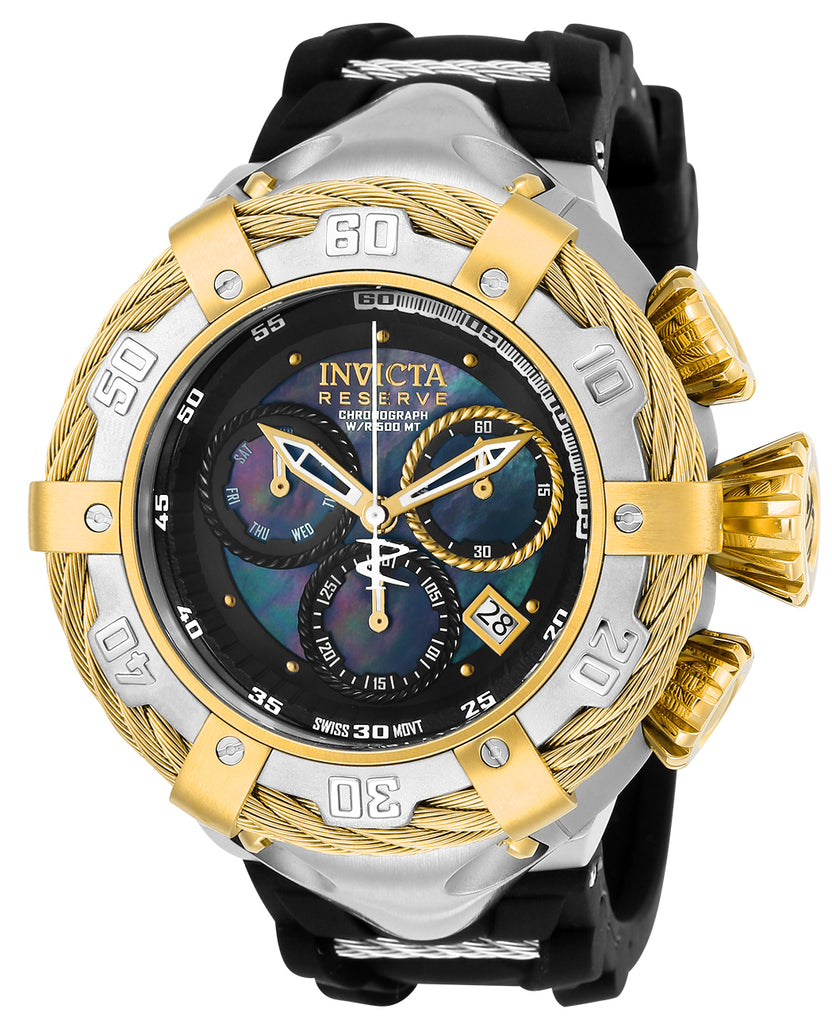 Invicta Men's 21363 Bolt Quartz Chronograph Black Dial Watch